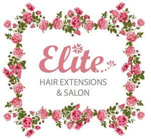 Elite Hair Extensions gold coast logo